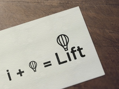 Lift (Air Balloon ) Logo