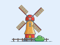 Outline mill animation