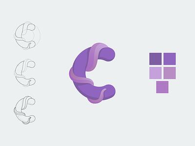 Letter C challenge day3 letter alphabetdesign alphabet typography icon logo design concept branding logo design vector illustration art