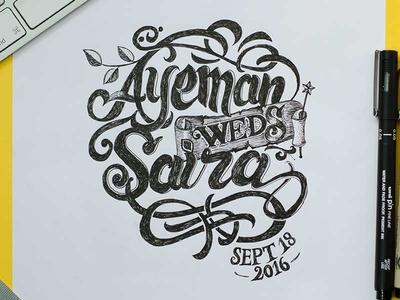 Ayeman weds Saira, Marriage