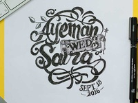 Ayeman weds Saira, Marriage