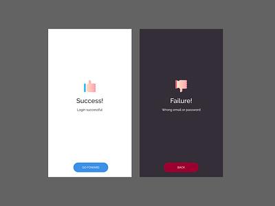 FLash Messages dail UI- 011 011 web ux dailyui ui design