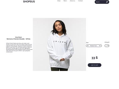 Single Product daily UI - 012 012 ux dailyui web ui design