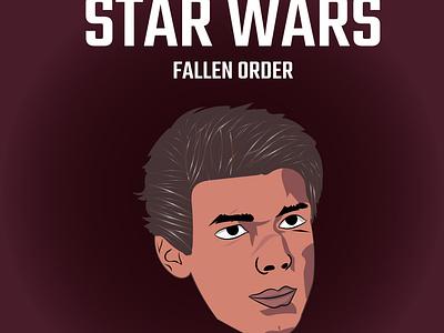 Star wars design illustration