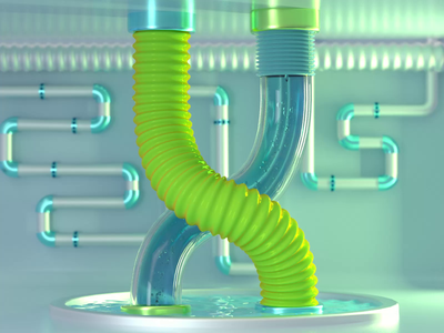 X - 36 days of type 2020 motiongraphics motion 36daysoftype 2020 c4d octane cinema4d render 3d