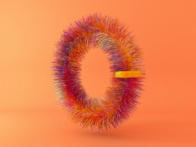 0 - 36 days of type 2020 2020 typography lettering illustration 36daysoftype c4d octane cinema4d render 3d