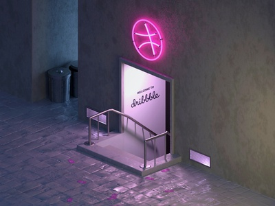 Dribbble Speakeasy