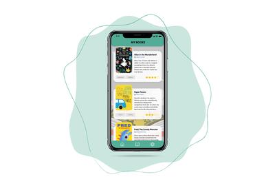 eBook Reader UI