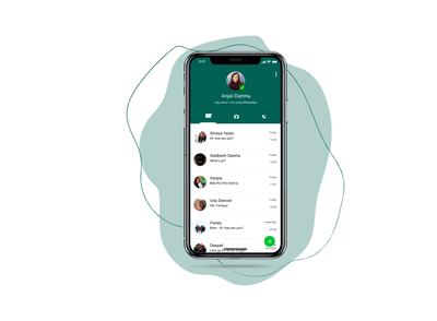 Whatsapp Chats UI