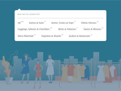 Fashion eCommerce Category Listing UI