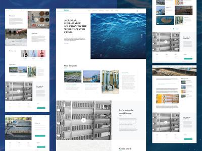 WatrTech : Website Redesign