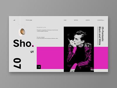 Web board design 网页客户端 fashion book segmentation gray restoring ancient ways typography plate vector ux web设计 web