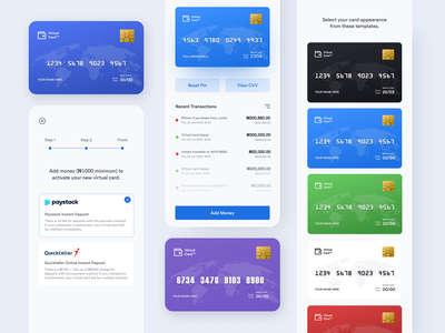 Mobile Banking App wallet ui mobile management light ios design icon finance dashbord crypto credit card clean bank card budget bank atm