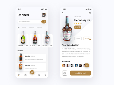 Famous wine e-commerce program red wine drink cuberto ui ux graphics ios mobile food delivery ecommerce burger order meal chef procreate product menu restuiant