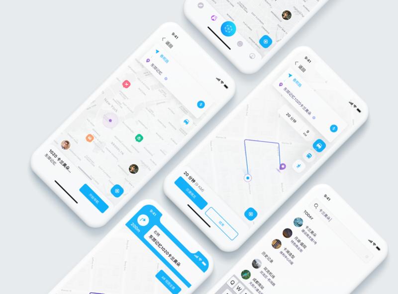 Map navigation concept draft