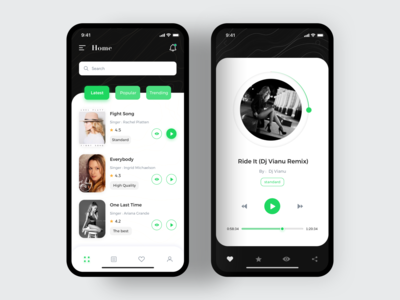Personalized music software