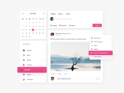 Social product concept application