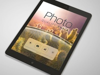 Photo Quality Check v.20 home screen Portrait prototype