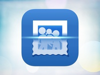 Photo Scanning App Icon concept (WIP)