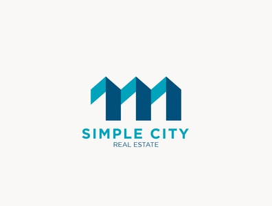 Simple City logo design