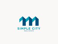 Simple City logo design