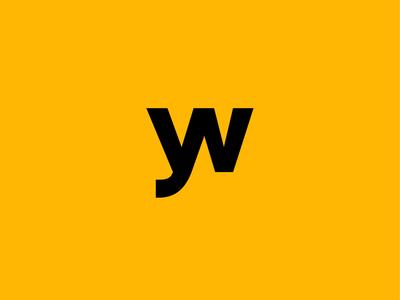 YW logo concept