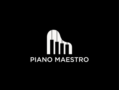 Piano Maestro Logo Design