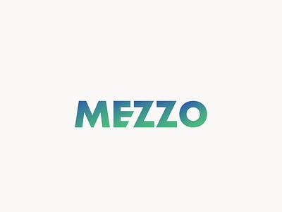 Mezzo logo design type logosai graphic graphicdesign logotype logodesign logos icon logo design