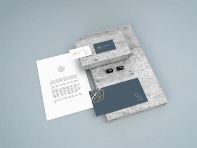 Stationery Mockup free psd mockup smart object showcase design stationery freebie free psd