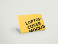 Laptop Cover Mockup showcase mockup psd laptop cover mockup