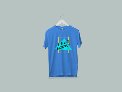 Hanging T-Shirt Mockup pod mockup free psd free mockup hanging t-shirt t shirt mockup