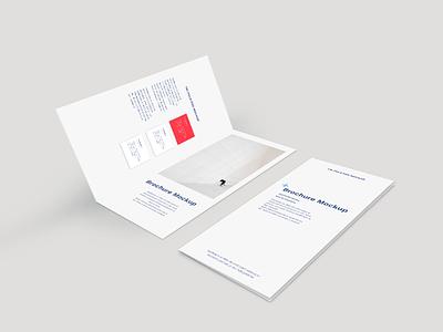 Bi-Fold Brochure Mockup fee download free mockup mockup flyer realistic presentation bi-fold brochure mockup