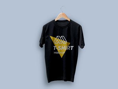 T-shirt on Hanger Mockup free mockup mockup apparel mockup hanging t-shirt t-shirt mockup
