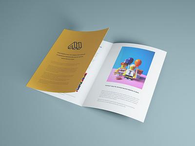 Trifold Brochure Mockup psd mockup mockup presentational half opened brochure trifold mockup