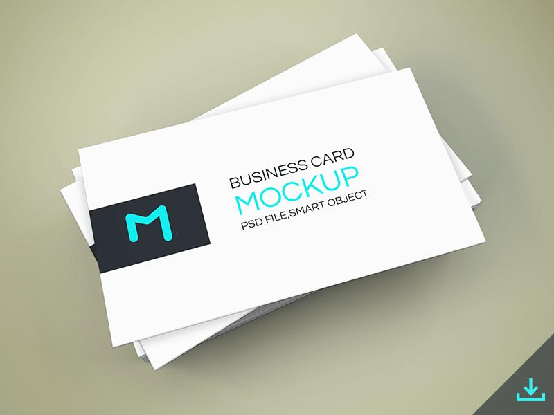 Freebie - Elegant Business Cards Mockup free freebie psd mockup mock-up business card cards showcase realistic modern minimalistic