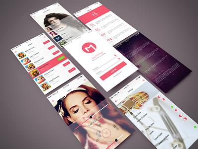 Freebie - App Screen PSD Mockup free freebie psd mockup mock-up app design isometric screen application mobile showcase