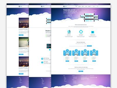 Freebie - Astro,Multipage Hosting Template free freebie astro theme template hosting web psd page design multipage server