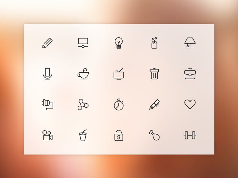 Freebie - 20 Free Line Icons free freebie vector psd ai line icon icons set collection simple modern