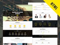 Freebie - Smak HTML Responsive Single Page Template