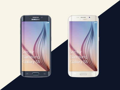 Freebie - Samsung Galaxy S6 Mockup