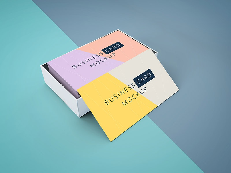 Freebie business cards mockup by graphberry dribbble wajeb Gallery