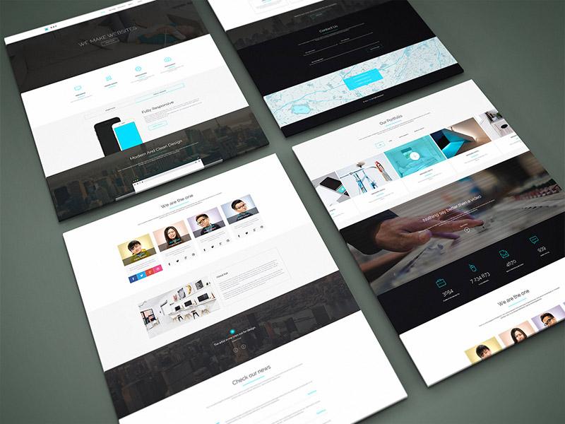 Website Design Mockup Service