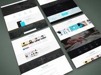 Freebie - Perspective Website PSD Mock-Up