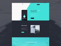 Freebie - Nord,Simple App Template