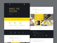 Creative Portfolio PSD Web  Template