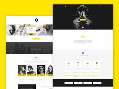 Sparkle - Free Multipurpose PSD Web Template landing page cta simple modern html presentation psd single page onepage web