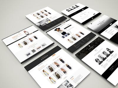 sometric PSD Web Mockup