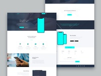 PSD Landing Page Template