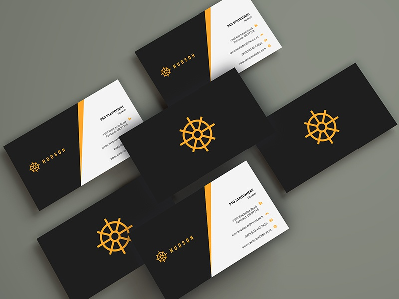 Business Cards Mockup freebie free smart object psd mockup print business card