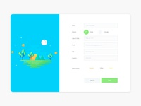 Signup Form Template